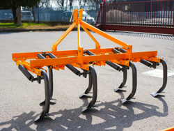 cultivator with duck foot tynes working width 165cm cultivator for agricultural tractore mod de 165 7 v