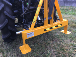 hydraulic crane for small tractors el 200