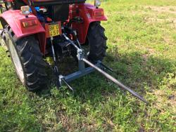 hey bale fork for small traktors dk 3