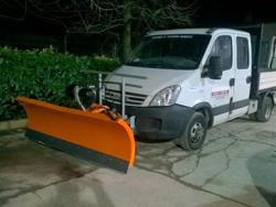 snow plow for cargo vans ln 200 j