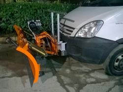 snow plow for cargo vans ln 220 j