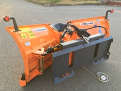 snowplough for up to 3 0 ton skid steer loaders lnv 200 m