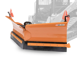 snowplough for up to 3 0 ton skid steer loaders lnv 220 m