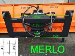 snowplough for telehandlers merlo ssh 04 2 2 merlo