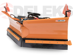 snowplough for up to 3 0 ton skid steer loaders lnv 300 m