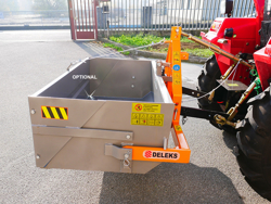tipping transportbox for tractor prm 140 l