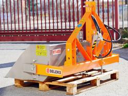heavy hydraulic transport box for tractor pri 140 h