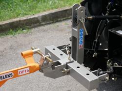 single plough for tractors like kubota or iseki dp 16