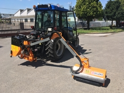 tractor mounted hedge cutter airone 80