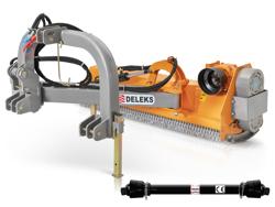 sideshift flail mower offset side mulcher for tractors deleks