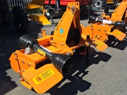 light rotavator tiller for tractors working width 135cm for soil preparation dfl 135