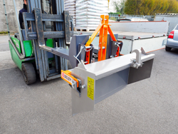 bucket attachment for forklift prm 100 lm
