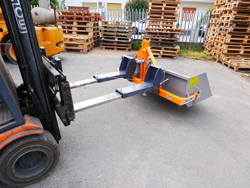 bucket attachment for forklift prm 140 lm