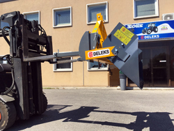 heavy bucket attachment for forklift prm 140 hm