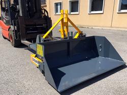 heavy bucket attachment for forklift prm 180 hm