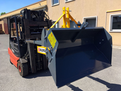 heavy bucket attachment for forklift prm 200 hm