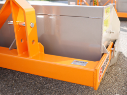 heavy hydraulic transport box for tractor pri 200 h
