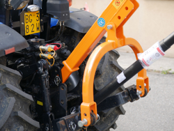 post hole digger for tractor with pto shaft mod l 50