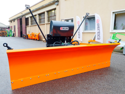 frontal snow plogh with mounting plate for tractor ssh 04 3 0 a