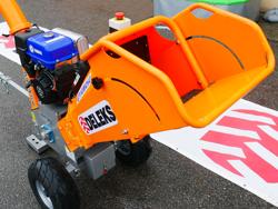 petrol chipper shredder woodchipper with engine dk 800 yamaha