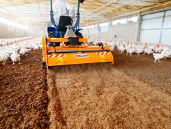 shatter milling machine mixture facing bedding for poultry farms pavo 160