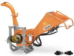 drum bio wood chipper for tractor dk 1300