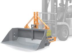 heavy bucket attachment for forklift prm 140 hm