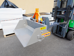 hydraulic bucket attachment for forklift pri 140 lm