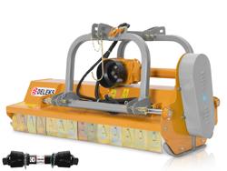 adjustable sideshift flail mower for 50 90hp tractors sturdy shredder mulcher mod rino 160