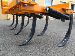 cultivator 215cm tiller with springs for soil preparation mod de 215 9