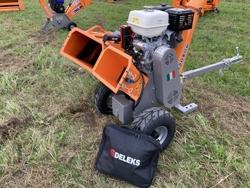 petrol chipper shredder woodchipper with engine dk 800 honda