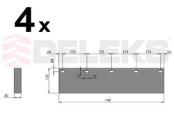 spare rubber blade ssh 04 3 0