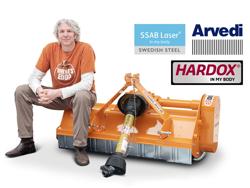 flail mower 140cm mulcher shredder with hammers leopard 140