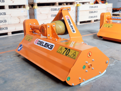 mulcher for compact tractors flail mower 165cm shredder with hammers lince 165