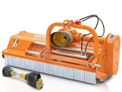 adjustable sideshift flail mower 160cm for 40 70hp tractors shredder mulcher leopard 160 sph