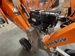 petrol chipper shredder dk 500 bs