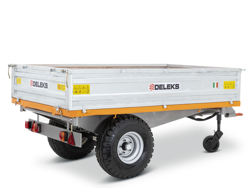 3 way hydraulic tipping trailer for tractor rm 14 t3