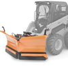snowblades and v plows for skid steers forklifts deleks