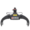 pliers for wood log grapples and hydraulic rotors for mini excavators excavators forestry cranes and manure loading