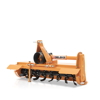 agricultural rotavator tiller for light series tractors with manual sideshift