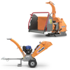 professional petrol shredders wood chipper wood chipper for tractor pto driven branch shredder