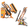 hydraulic brush cutter arms and tractor mounted hedge trimmers